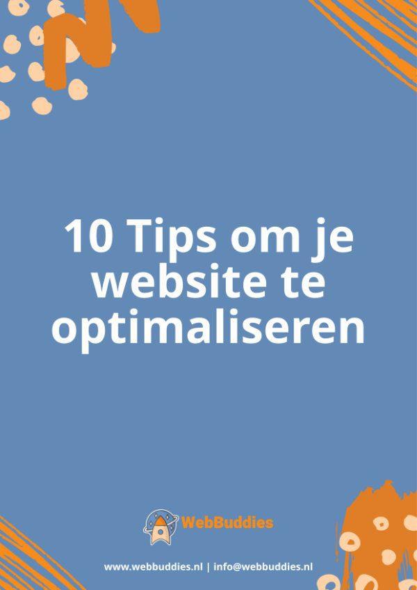 10 tips om je website te optimaliseren